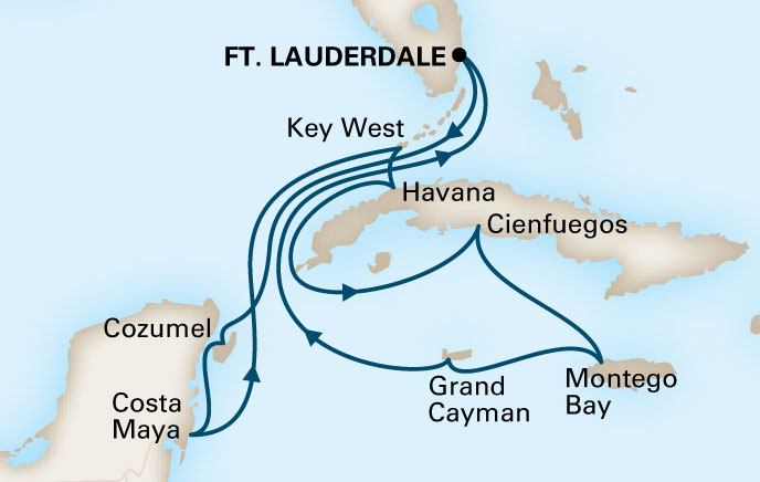 Holland America 12 Day Cruise to Cuba
