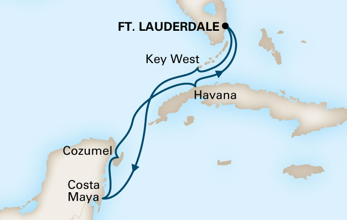Holland America Cruises to Cuba Itinerary 2