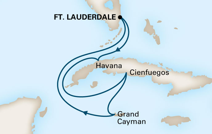 Holland America Cruises to Cuba Itinerary 4