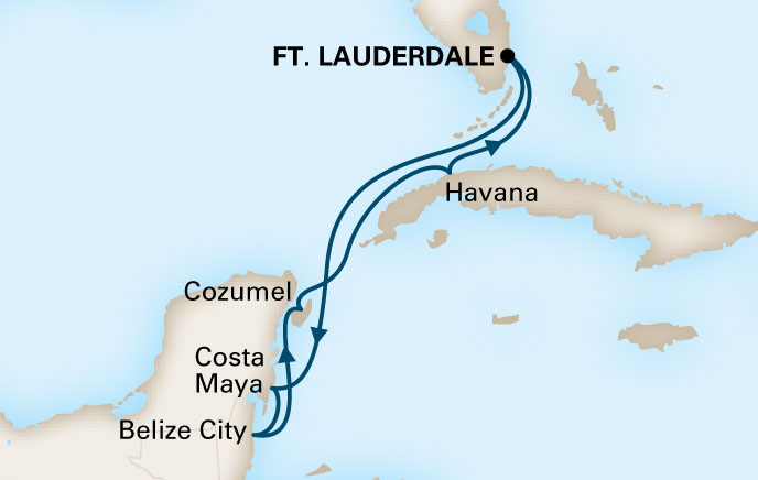 Holland America Cruises to Cuba Itinerary 5