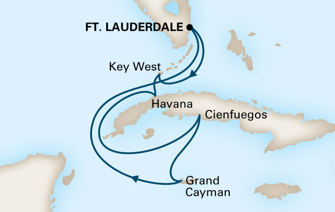 Holland America Cruises to Cuba Itinerary 6