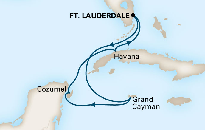 Holland America Cruises to Cuba Itinerary 7