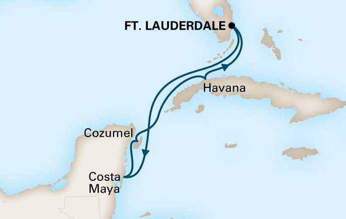 Holland America Cruises to Cuba Itinerary 8