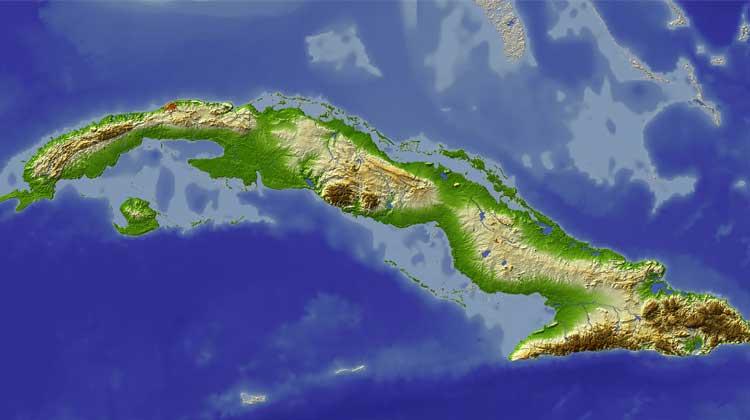 Cruising to Cuba Map of Cuba
