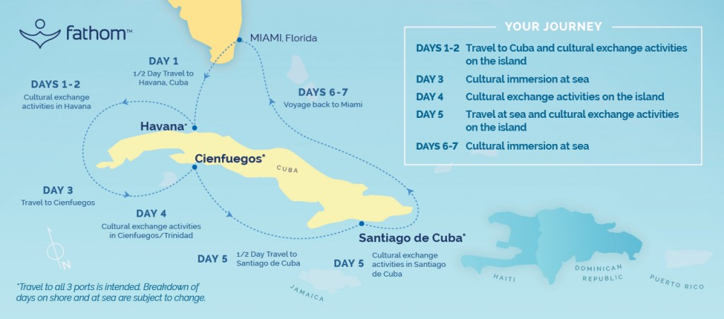 Fathom Group Cruise to Cuba