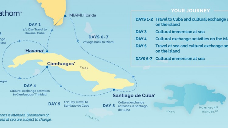 Fathom Group Cruises to Cuba