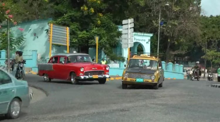 Trucks and Buses in Cuba