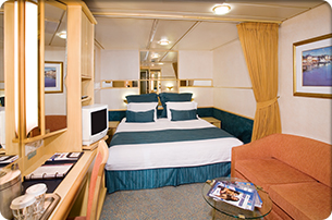 Empress of the Seas Interior Cabin