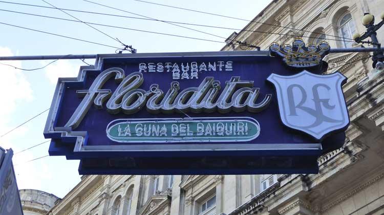 Floridita La Cuna del Daiquiri Cuba Cruise