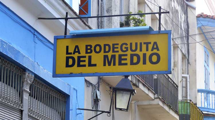 La Bodeguita del Medio Cuba Cruise Excursion