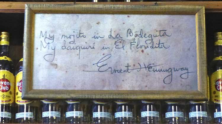 My Mojito in La Bodeguita