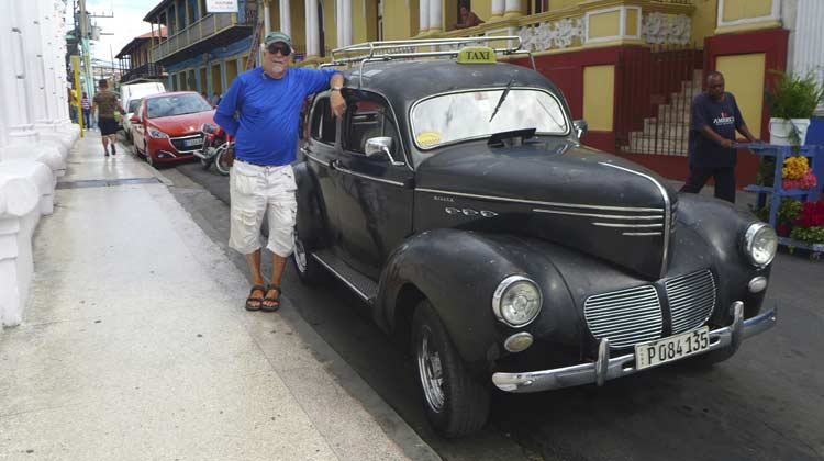 43 Willys Flathead 4 Cuba