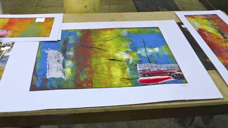 Art from El Taller Experimental de Grafica Cuba Cruise