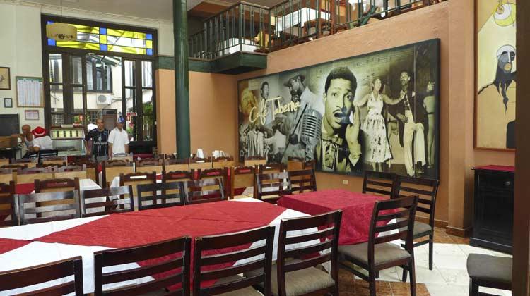Cafe Taberna Havana Cruising to Cuba