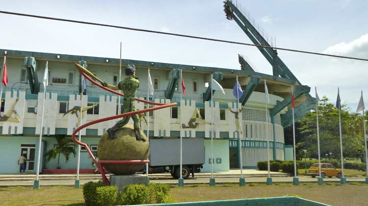 Cienfuegos Elefantes Baseball Stadium CubaCruise