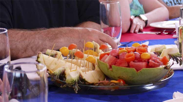Cuba Fruit Dish Santiago de Cuba