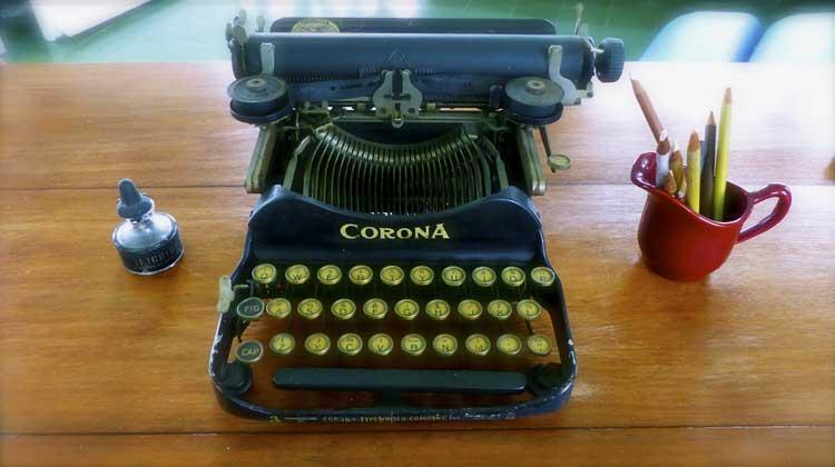 Hemingway's Corona Typewriter Finca Vigia