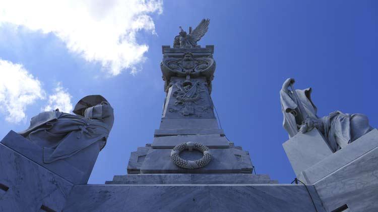 Mausoleo de los Bomberos Firemen's Monument Colon Cemetary