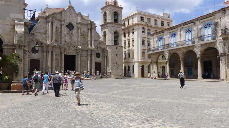 Old Havana Square Cuba Cruise