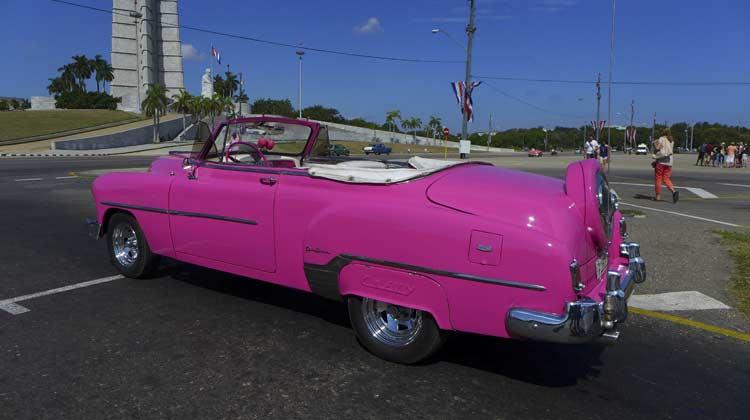 Plaza de la Revolucion Havana Cuba Cruise Excursion