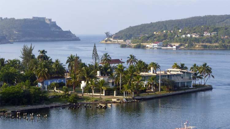 Santiago de Cuba Bay Cuba Cruise