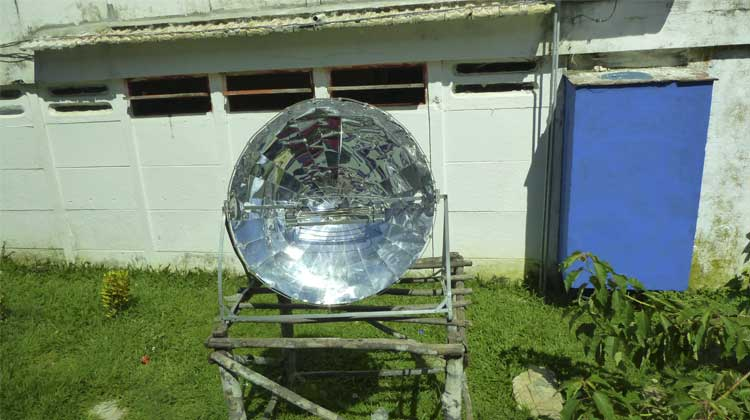 Solar Oven Cuba