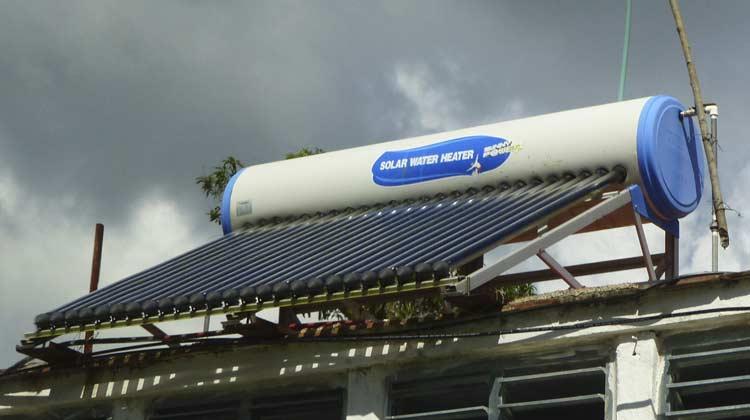 Solar Water Heater Las Terrazas Cuba