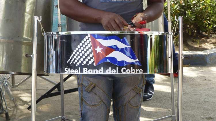 Steel band del Cobre Cuba Cruise