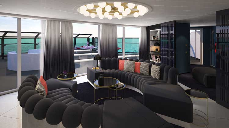 Massive Suite on board Scarlet Lady